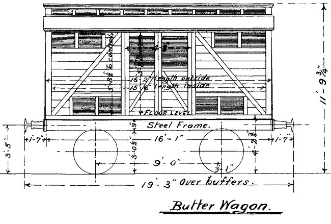 12 butter wagon